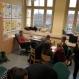 Kreativität in einem Klassenraum