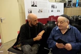 Schlomo Samson im Gespräch mit Dr. Marco Helbig (Foto: Silvia Hauptmann)